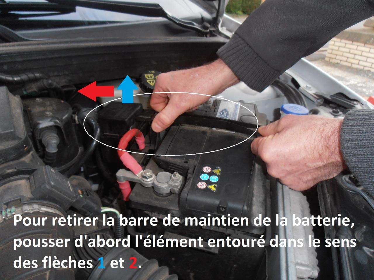 Comment demonter une batterie de voiture ?