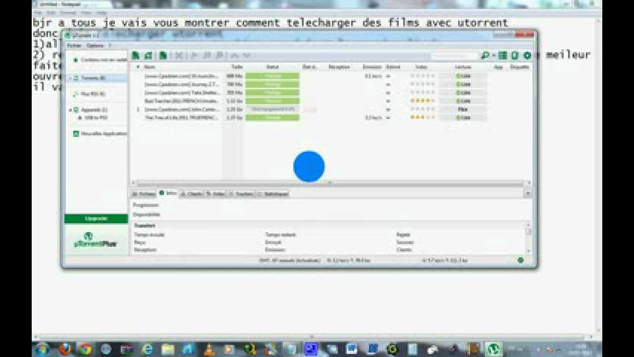 Comment telecharger sur utorrent